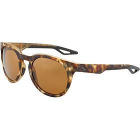 100% Campo Cykelbriller, soft tact havana | bronze peakpolar